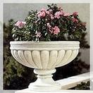 Balcony vase