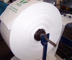 Sleeve polypropylene from 30 to 70 cm wide
