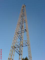 Tower masts metal