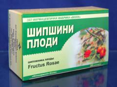 Шиповника плоды фильтр-пакеты №20