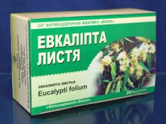 Эвкалипта прутовидного лист фильтр-пакеты №20