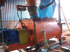 BS-1500 concrete mixer