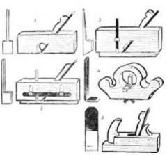 Столярный инструмент Ножи для рубанков, фуганков,