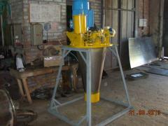 Spray of milk VRA, ORB, lock locks, disks, shaft