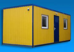 Buildings and mobile storage facilities