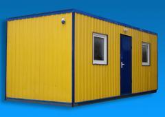 The car – the hangar (warehouse)
