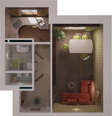 Однокомнатные квартиры в новом ЖК