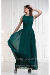 Los vestidos de noche shifonovye