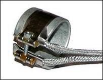 Хомутовый нагреватель тип DGP, ⌀ 30x40 мм, 205 Вт, 230 В, выводы 1000 мм