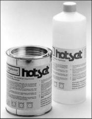 Двухкомпонентное вещество для заливки нагревательных элементов