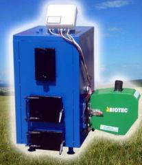 Boilers on AKO waste (tvertodoplevny, pelletny)