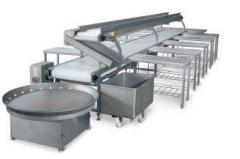 Lines conveyor for boning and zhilovka of Beef