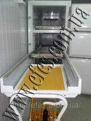Morgue chamber for storage of corpses, Zaporizhia,