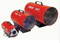 Mobile gas heaters