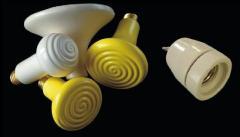 Ceramic IK a lamp with E27 socle