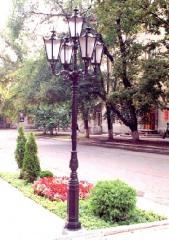 Светильник-опора парковый декоративный