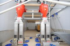 Computer system of dry feeding Weda