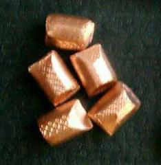 Castings from copper alloys (molding)