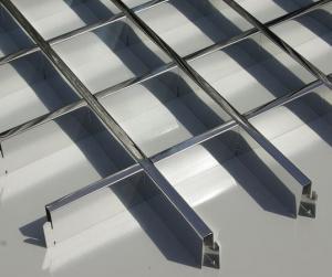 Ceilings aluminum GRILYaTO