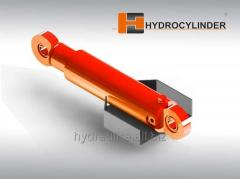 Hydraulic cylinders for agricultural machinery