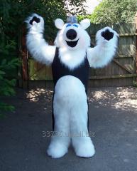 Life-size puppet Polar bear