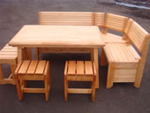 Furniture for saunas and dachas, production,
