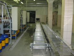 Frameworks, frames and designs conveyor
