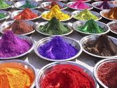Food colors for production of candy stores, dairy