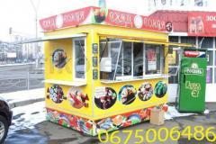 Торговые прицепы для уличной торговли суши