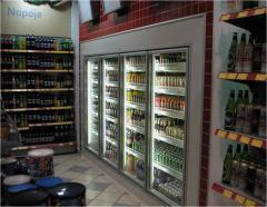 Trade and refrigerating appliances for shops and
