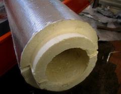 Heat-insulating shells from PPU polyurethane foam