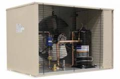 Units compressor and condenser street execution of