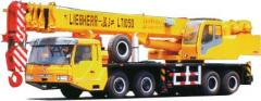 I will sell the truck crane