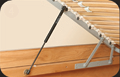 Mechanisms of raising of a bed, furniture