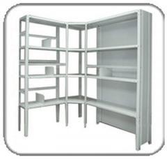 Шкаф стеллажный металлический