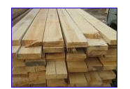 Boards, levels, rails, lath of soft breeds of wood