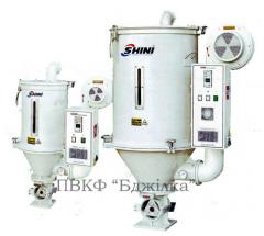 Bunker dryer of raw materials (bunker drying,