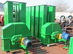 Noriya NPZ-50mr's grain loaders h=18m.
