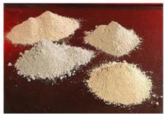 Powders shamotny