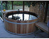 Barrel for a sauna