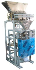 Automatic machine for packing of grain, sugar and