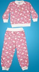 Изделия трикотажные.  Пижамы детские