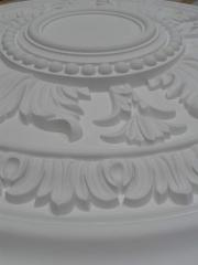 Ceiling sockets, friezes, baguettes, eaves,