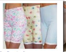 Белье женское. Панталоны.