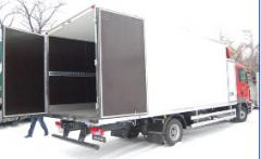 Isothermal body van
