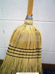 Brooms of a premium sorghum, 1 grade.