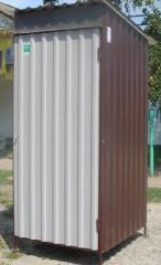 Туалеты модульные. Исполнение: под биотуалет или