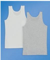 Изделия трикотажные хлопчатобумажные для детей.  Майки для мальчиков, опт от 1000грн, Мелитополь..