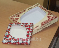 Packaging for confectionery cardboard