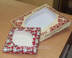 Упаковка для кондитерских изделий картонная